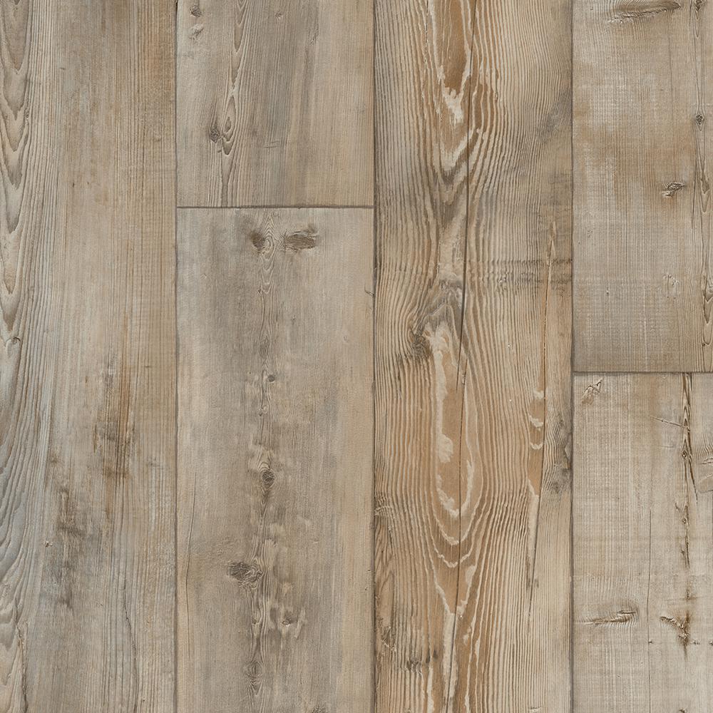 IVC Take Home Sample - Alexton Oak Residential Sheet Vinyl Flooring - 6 in. x 9 in.