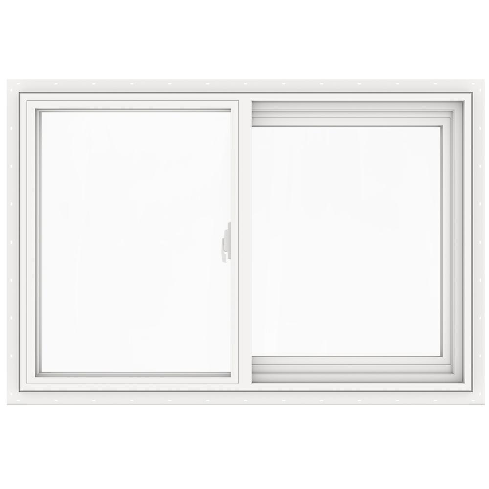 JELD-WEN 35.5 in. x 23.5 in. V-2500 Series Left-Hand Sliding Vinyl Window