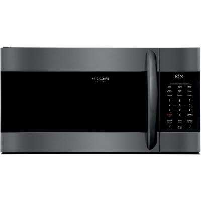 1.7 cu. Ft. Over the Range Microwave in Smudge-Proof Black Stainless Steel with Sensor Cooking Technology