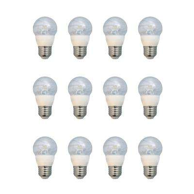 60-Watt Equivalent A15 Dimmable LED Light Bulb, Daylight (12-Pack)