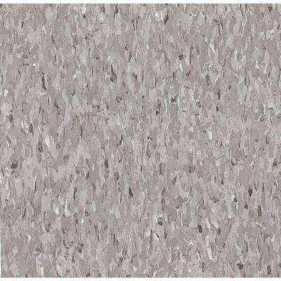 Take Home Sample - Imperial Texture VCT Field Gray Standard Excelon Commercial Vinyl Tile - 6 in. x 6 in.