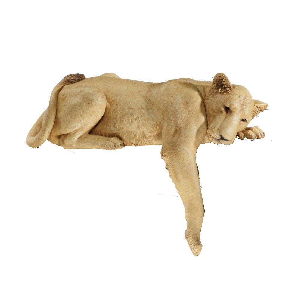 Design Toscano 19 in. Lioness of Namibia Statue-DISCONTINUED