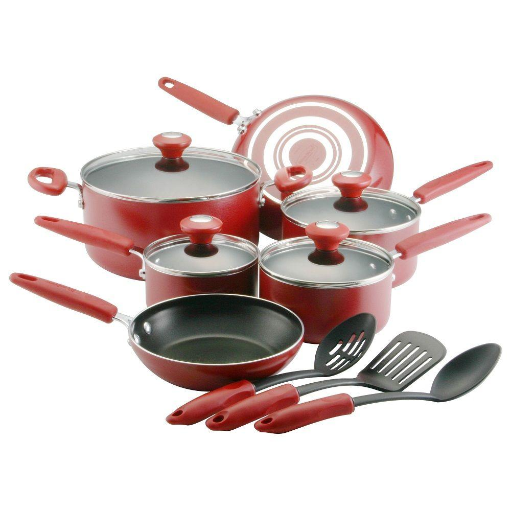 SilverStone Culinary Colors Series 13 Piece Set - Red