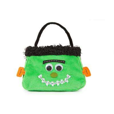 7 in. x 7 in. x 13 in. Frankenstein Halloween Treat Bag