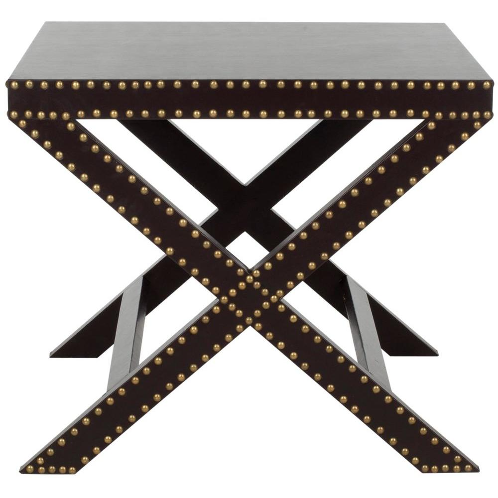 Jeanine Charcoal End Table