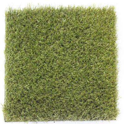 Carpet Sample- Trugrsass- Color Emerald Artificial Grass 8 in. x 8 in.
