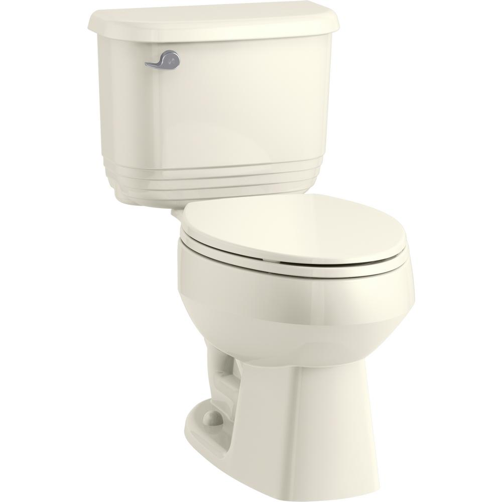 Super Kohler Brevia Elongated Closed Front Toilet Seat In Biscuit Beatyapartments Chair Design Images Beatyapartmentscom