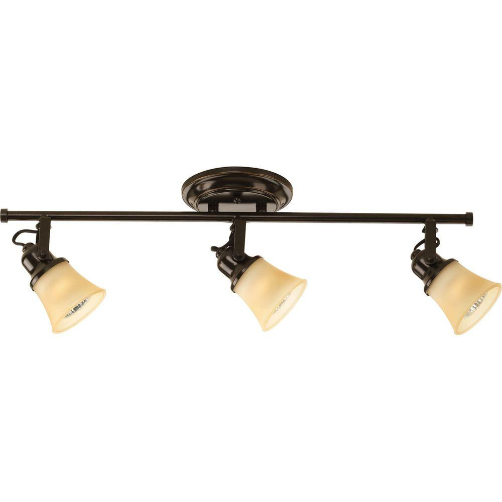 Progress Lighting 3-Light Antique Bronze SpotLight Fixture