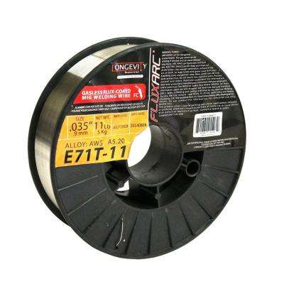 E71T-11 0.035 in. Flux Arc MIG 11 lb. Wire