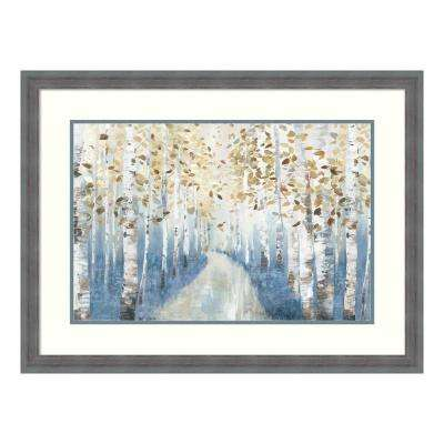 """""""New Path I"""" by Allison Pearce Framed Wall Art"""