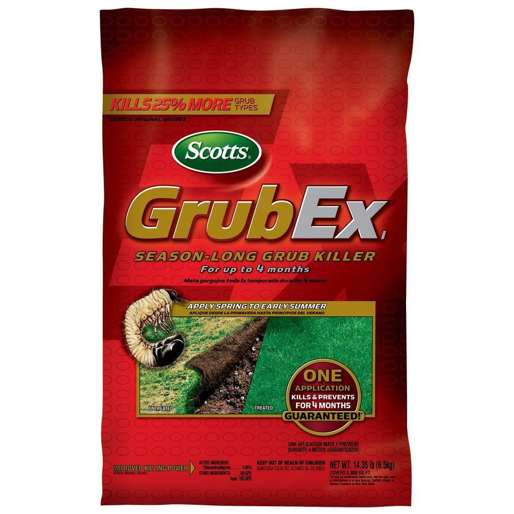 Grub Ex1 30-1/4 lbs. Season-Long Grub Killer
