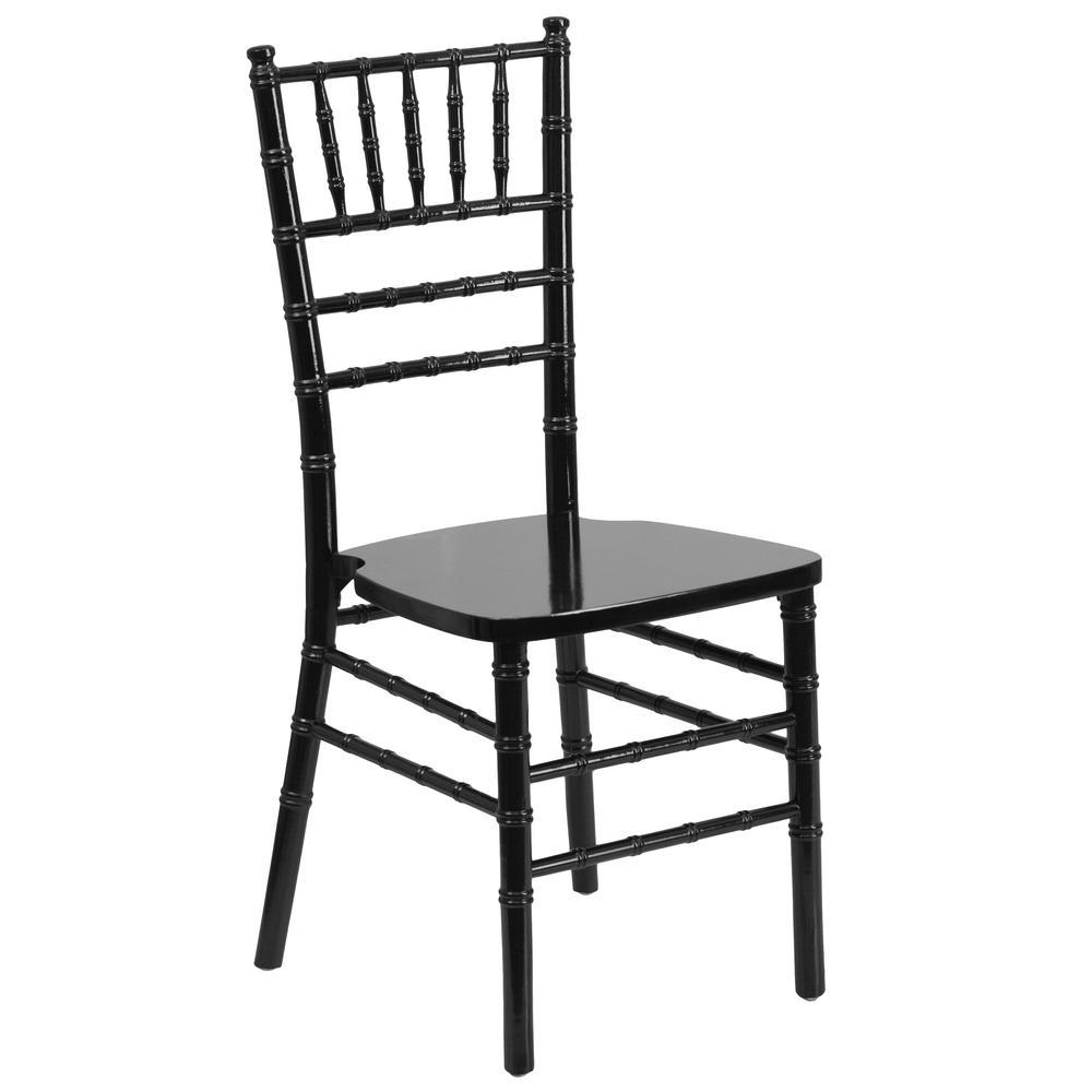 Hercules Series Black Wood Chiavari Chair
