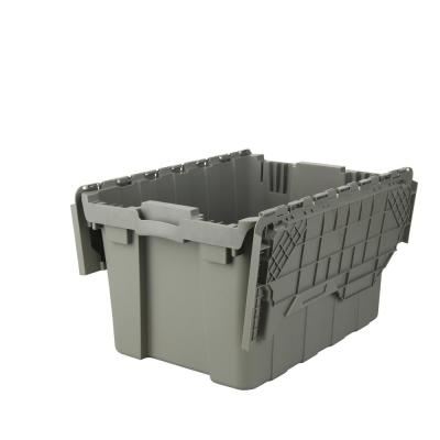 12 Gal. Commercial Gray Flip Top Tote