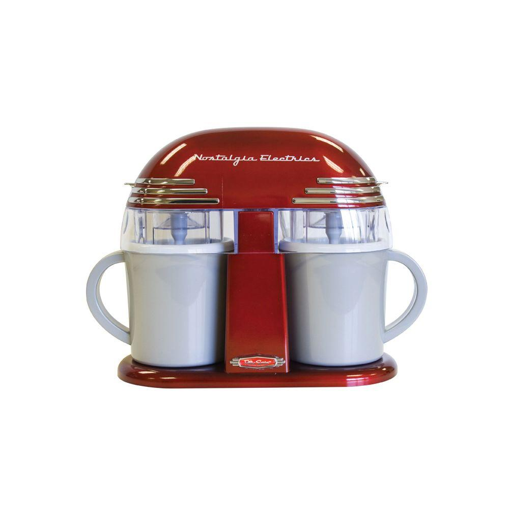 Nostalgia Electrics Retro Series Double Ice Cream Maker