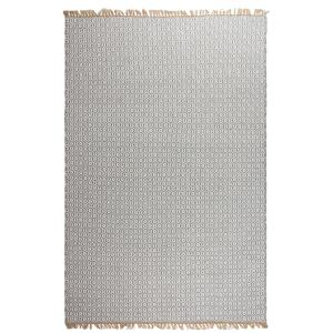 Lancut Indoor/Outdoor Grey 3 ft. x 5 ft. PET Area Rug