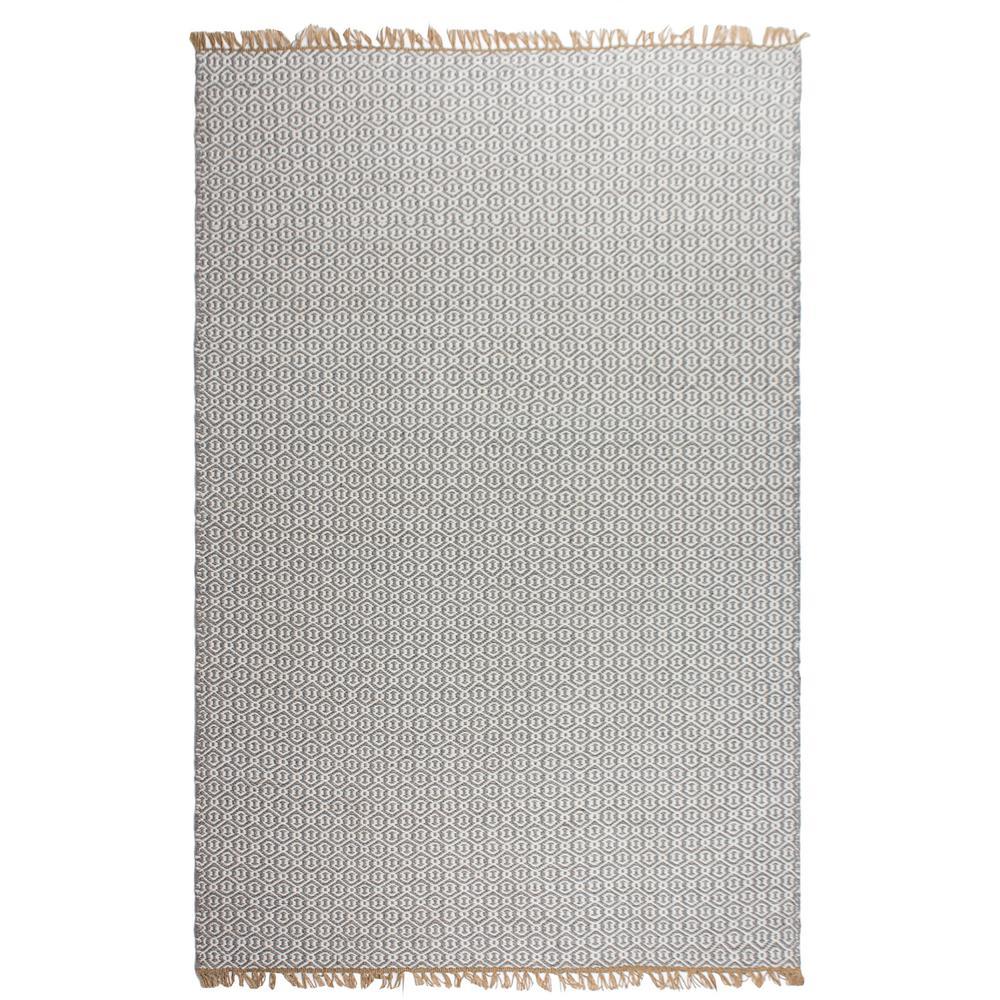 Lancut - Indoor/ Outdoor Grey (3 ft. x 5 ft. ) - PET Area Rug