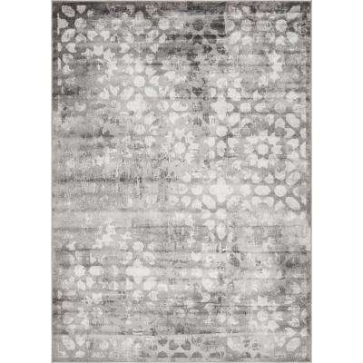Sofia Larvotto Dark Gray 7' 0 x 10' 0 Area Rug