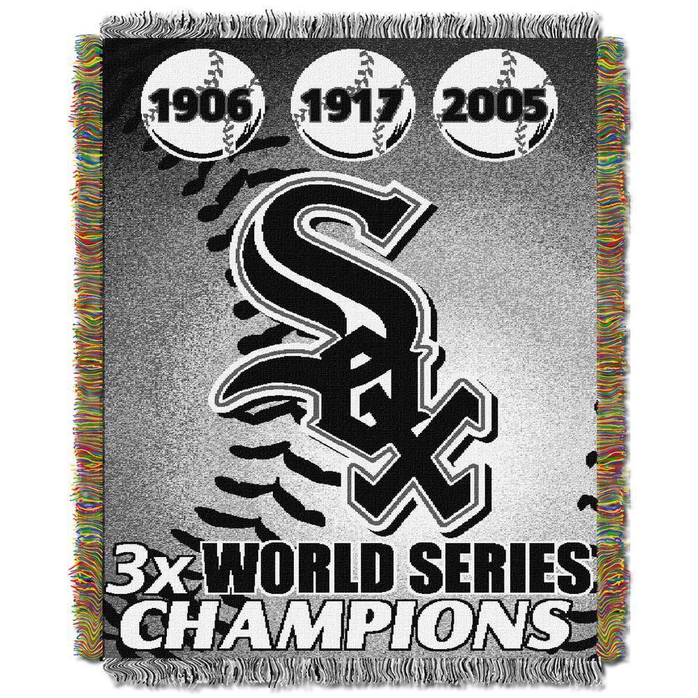 Chicago White Sox Polyester Throw Blanket