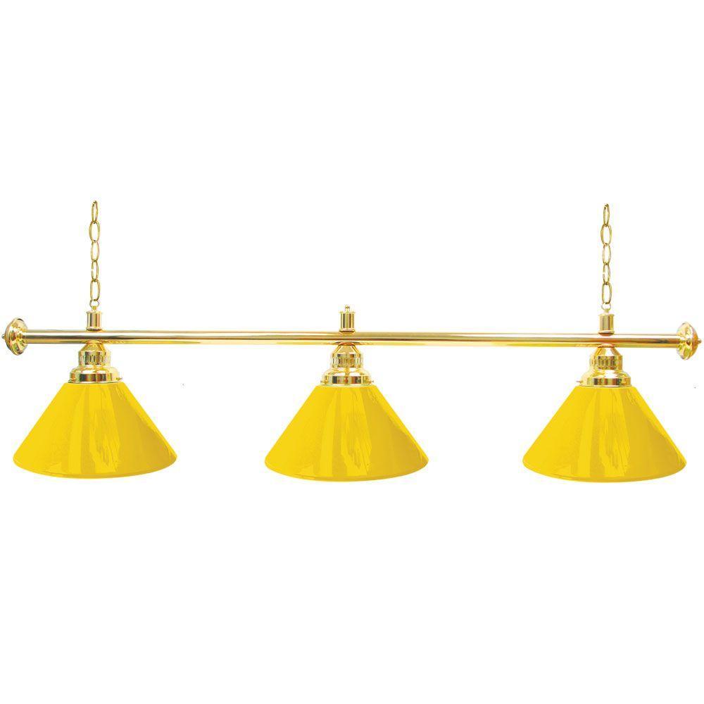Trademark Gameroom Anheuser Busch A /& Eagle 3 Shade Billiard Lamp