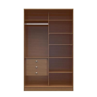 Chelsea 1.0 - 54.33 in. W Maple Cream Full Wardrobe with 3-Drawers