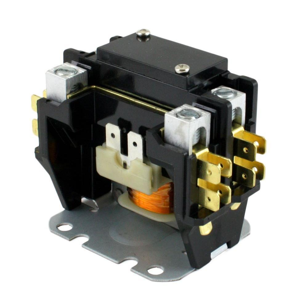 24-Volt Coil-Voltage F/L-Amp 40 Pole 1+ Res 50-Amp Definite Purpose Contactor