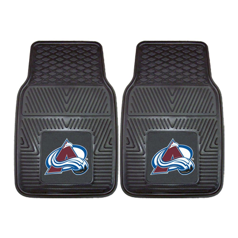 Fanmats Colorado Avalanche 18 In X 27 In 2 Piece Heavy