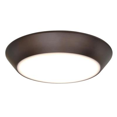 Maxim Lighting Convert LED 1-Light Bronze Flush Mount
