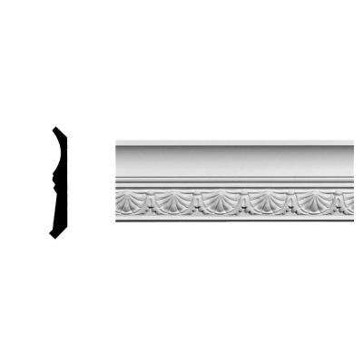 2-3/4 in. x 2-7/8 in. x 94-5/8 in. Polyurethane Shell Crown Moulding