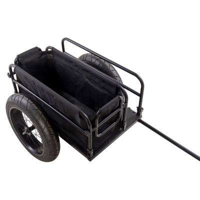 EV Bicycle Cargo Trailer with Black Cover