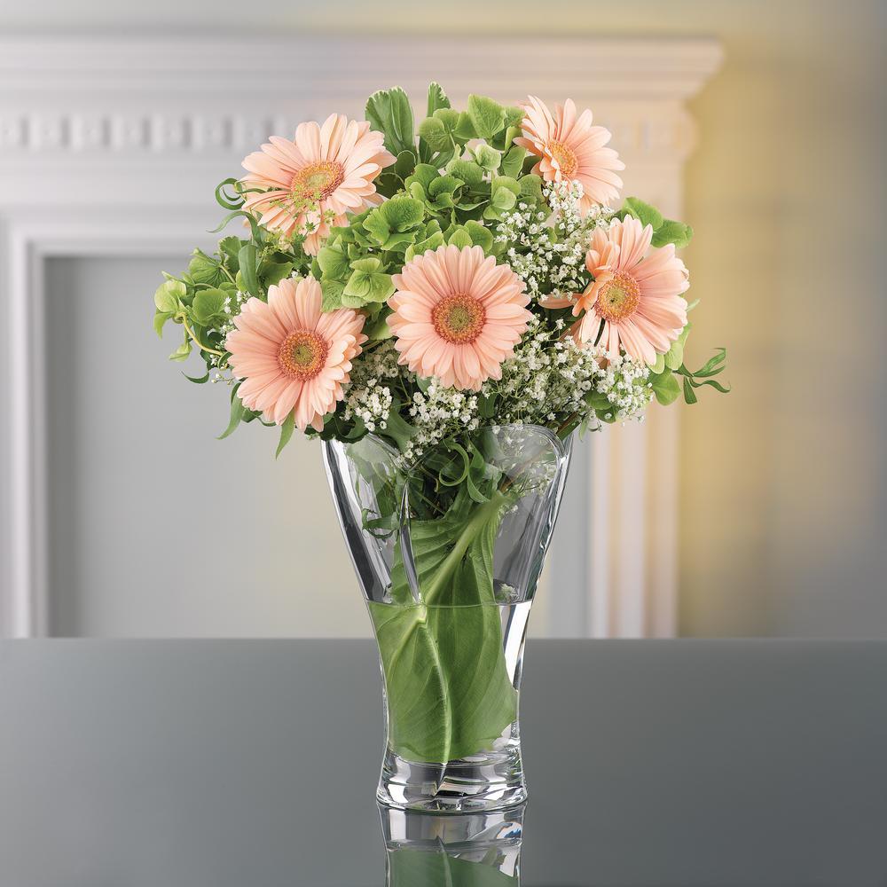 Calypso 9 in. Crystal Decorative Vase