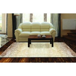 Home Dynamix Sizzle Beige Ivory 5 Ft 3 In X 7 Ft 2 In