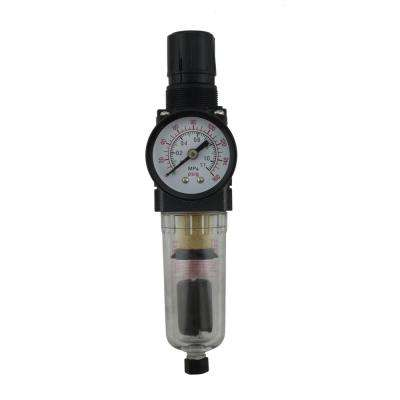 1/4 in. NPT Mini Polycarbonate FRL Air Filter Regulator