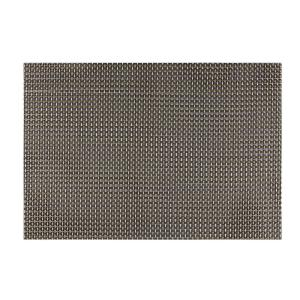Kraftware EveryTable Black, White and Gold Weave Placemat (Set of 12) by Kraftware