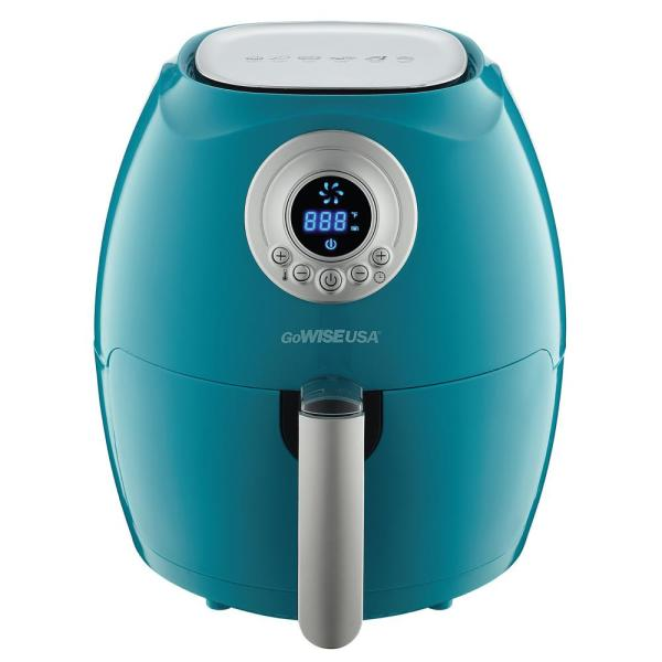 GoWISE USA 2.75 Qt. Teal Electric Air Fryer
