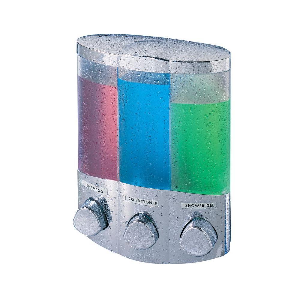 Trio Corner Dispenser in Chrome
