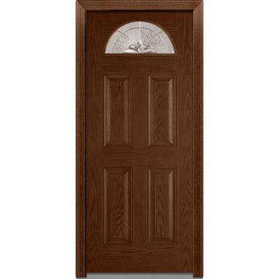 Medium Brown Wood 32 X 80 Exterior Doors Doors Windows The