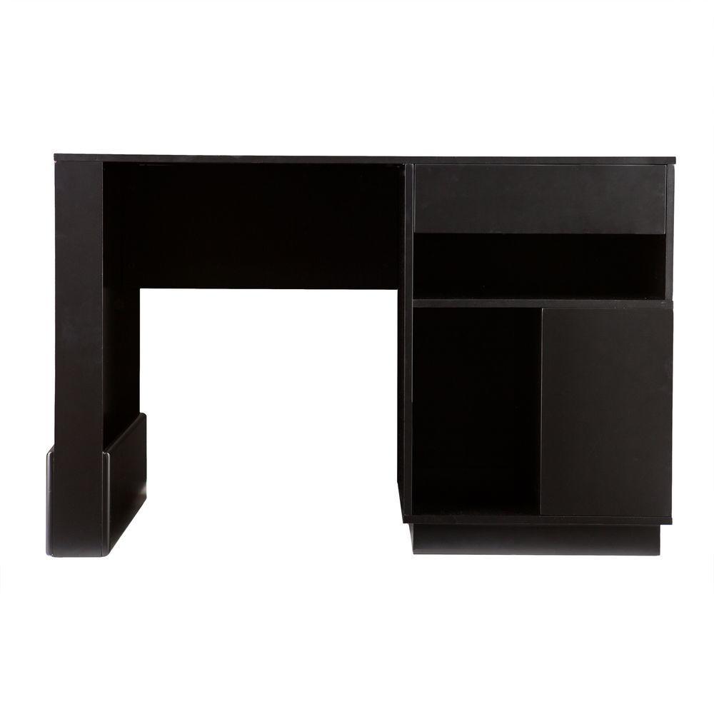 Southern Enterprises Black Boris Computer Desk-DISCONTINUED