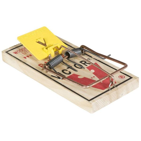 Professional Expanded Trigger Rat Trap (12-Pack)