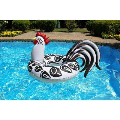 48 in. Rooster Swimming Pool Float Party Tube