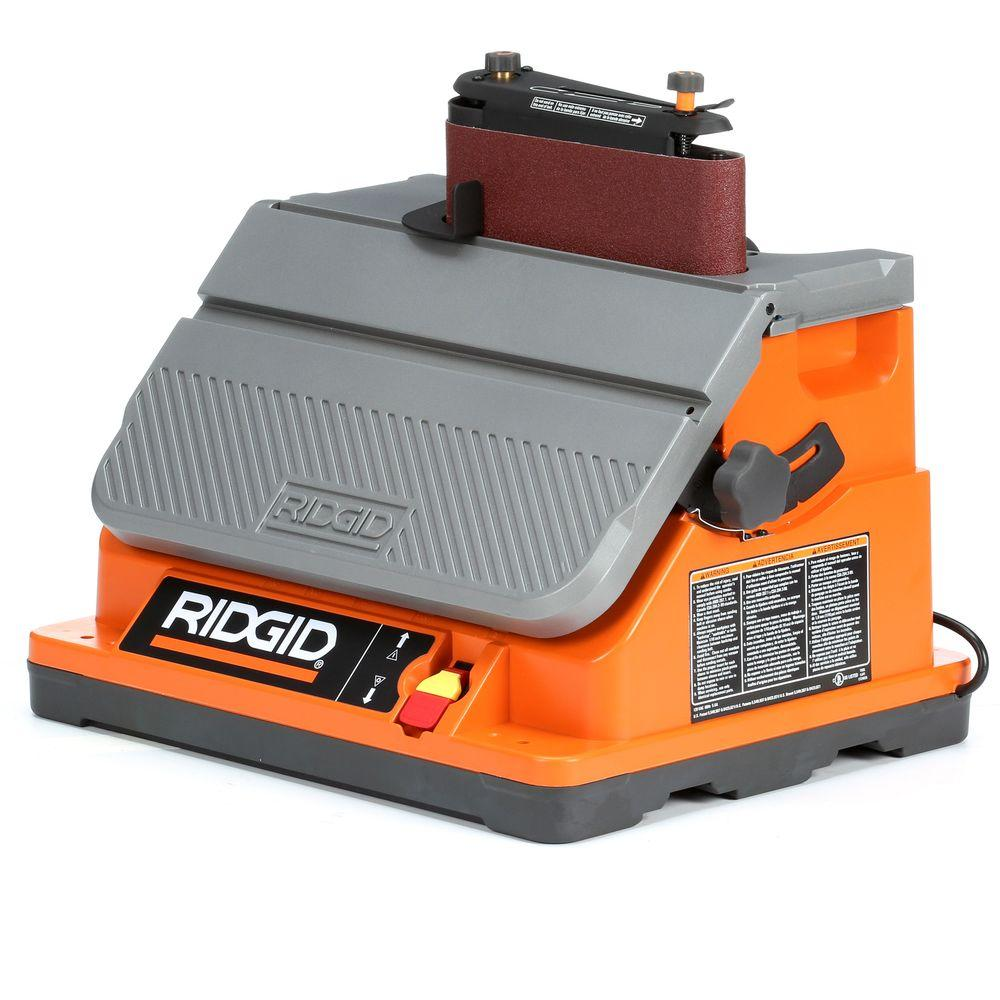 RIDGID Oscillating Edge Belt Spindle Sander