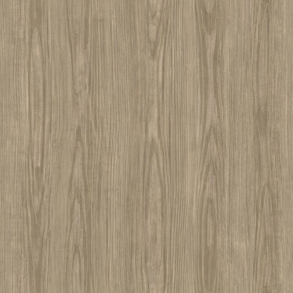 A-Street Chase Light Brown Faux Wood Texture Wallpaper Sample 2922-43056ZSAM