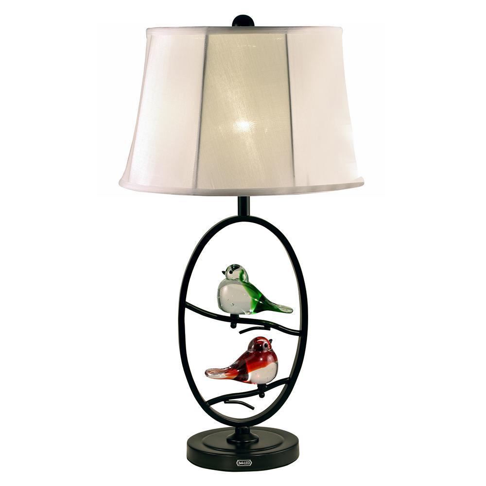Springdale Lighting Finch 27 in. Copper Bronze Table Lamp ...