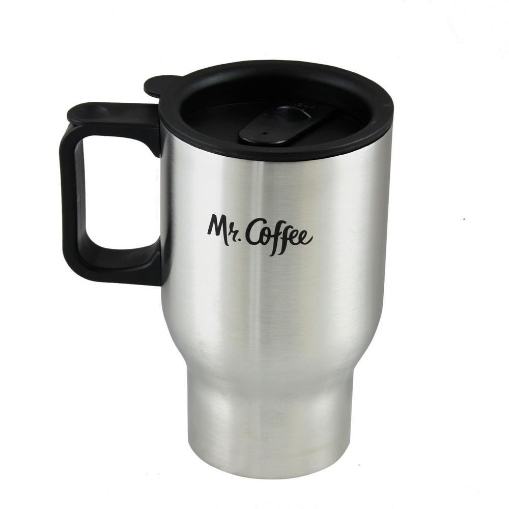 140bafb16d0 Internet  303632243. Mr. Coffee Expressway 15 oz. Stainless Steel Double  Wall Travel Mug