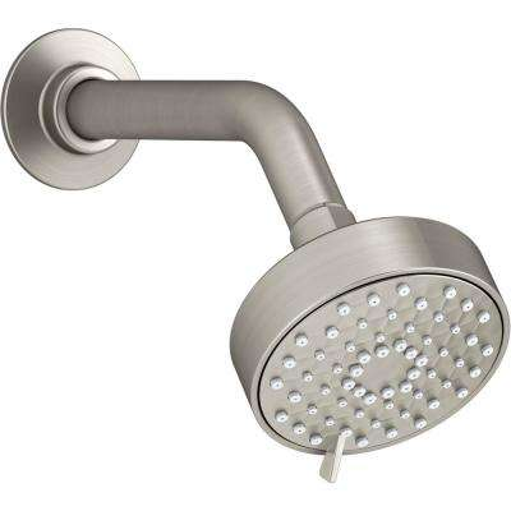 Awaken 3-Spray 3.5625 in. Showerhead in Vibrant Brushed Nickel