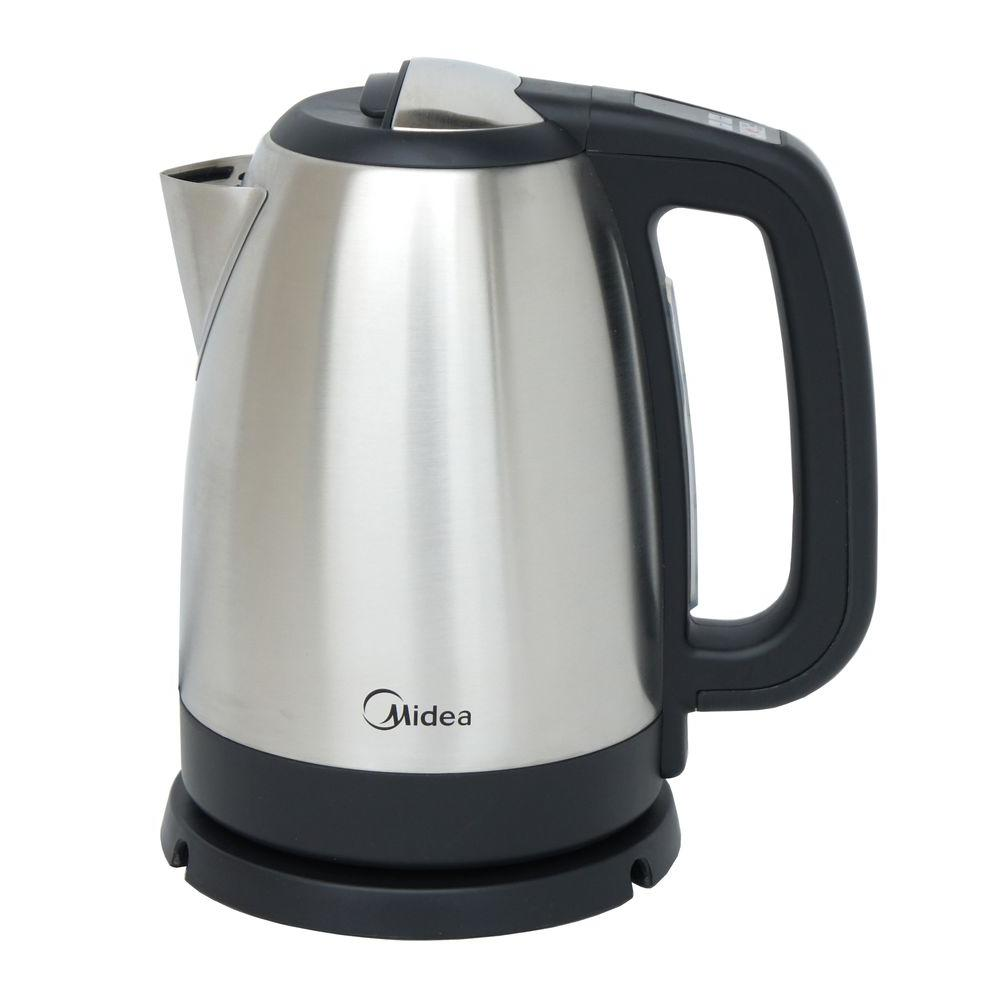 Midea 7.19-Cup Electric Kettle, Silver