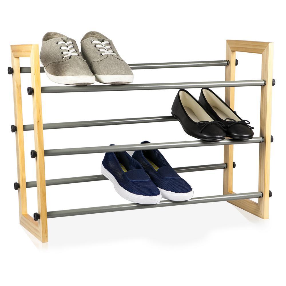 Sunbeam 15-Pair Shoe Organizer