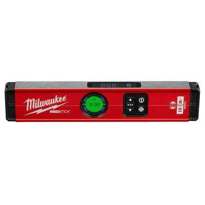 14 in. Redstick Digital Box Level with Pin-Point Measurement Technology