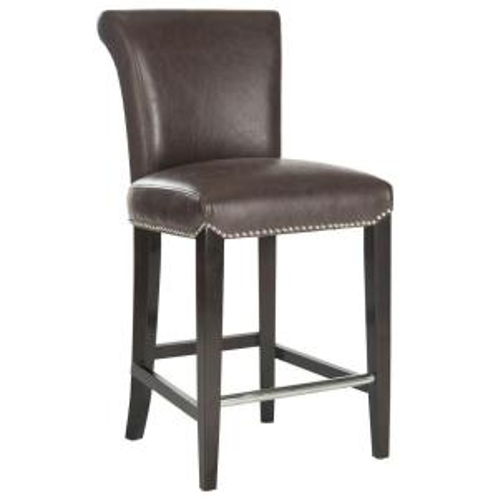 Pleasing Safavieh Seth 25 9 In Antique Brown Cushioned Bar Stool Bralicious Painted Fabric Chair Ideas Braliciousco