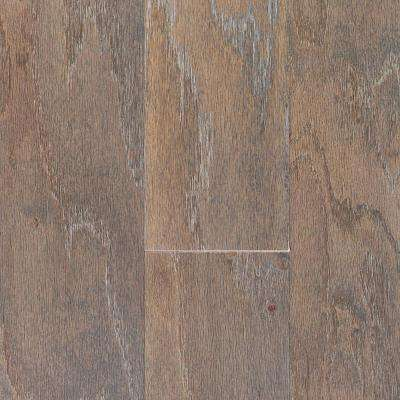 Oak Driftwood Wire Brushed 3/8 in. T x 5 in. W x Random Length Engineered Locking Hardwood Flooring (24.5 sq. ft. /case)