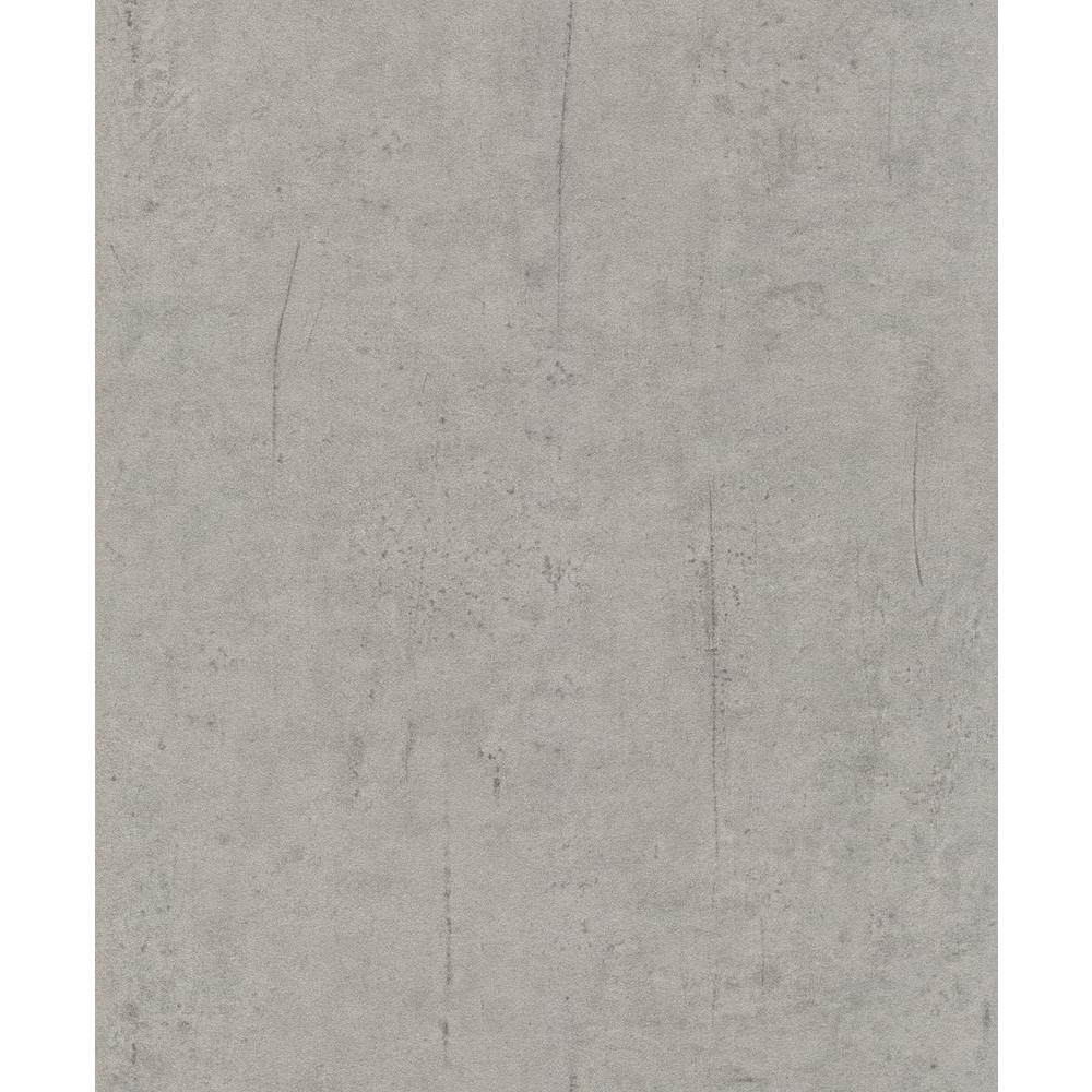 Washington wallcoverings distressed deep gray faux for Gray vinyl wallpaper